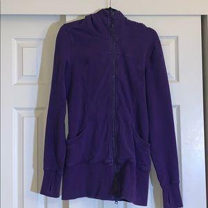 Lululemon Purple 12 Scuba Sweatshirt